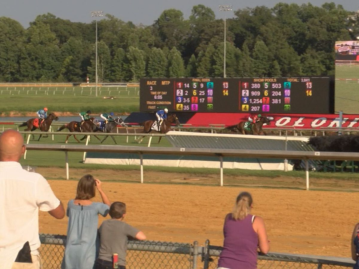 Horse racing officially returns to Colonial Downs