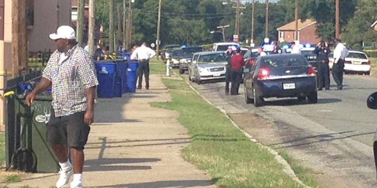 Teen shot in Gilpin Court, has life-threatening injuries