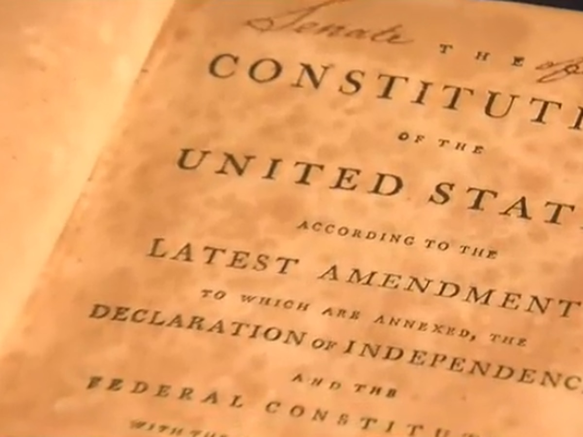 Washington and Lee Special Collections welcomes home a valuable book