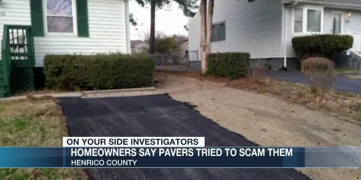 Police search for driveway pavers who attempted to scam Henrico residents