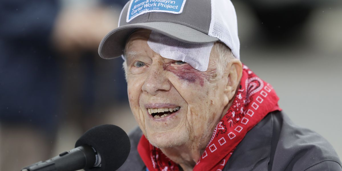 Despite recovery for broken bone, Jimmy Carter to teach Sunday school