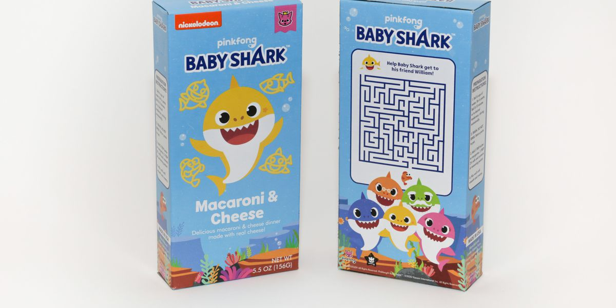 'Baby Shark' mac and cheese hitting Walmart shelves