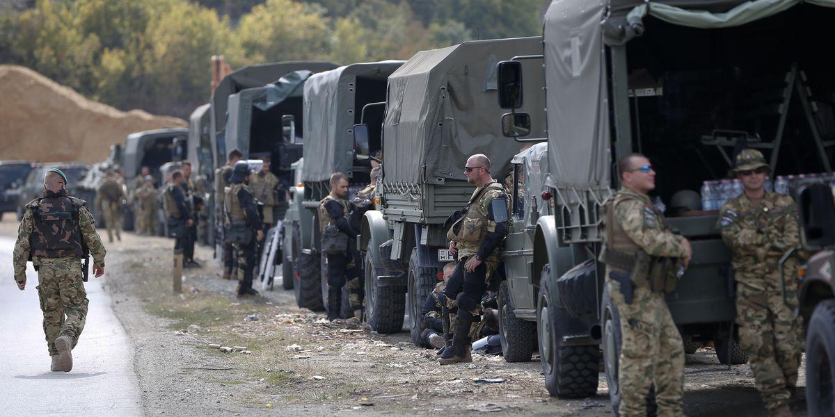 Kosovo premier, NATO chief speak amid Serbia tensions