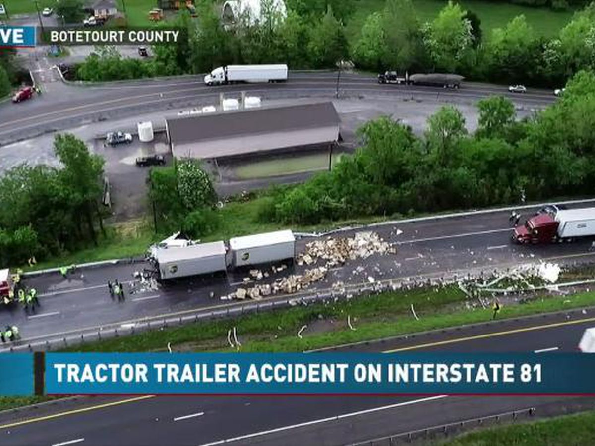 Names released of big rig drivers killed in connected crashes on I-81