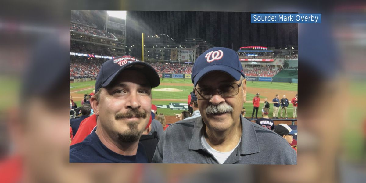 'I've never heard a stadium so loud': Washington Nationals fan celebrates NLCS win