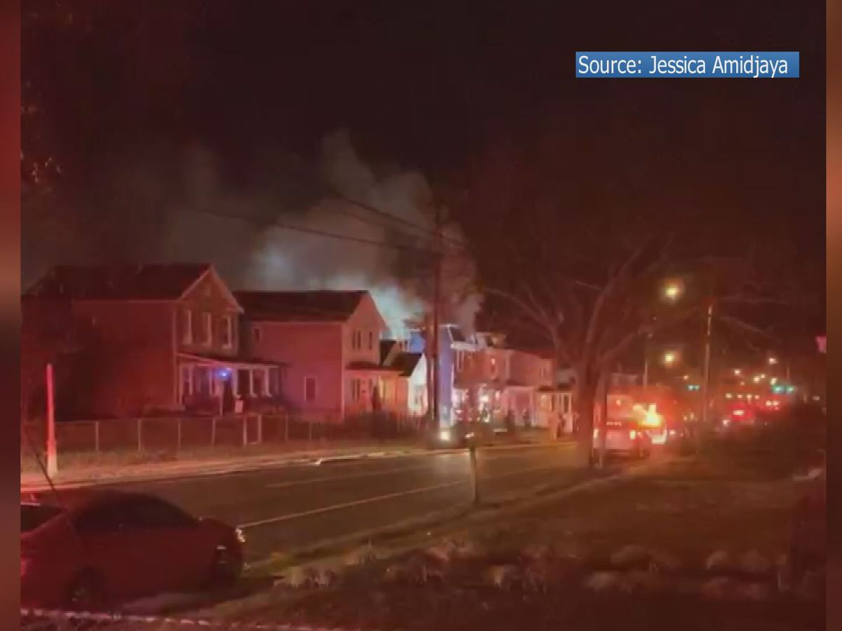 2-alarm fire rips through newly renovated home