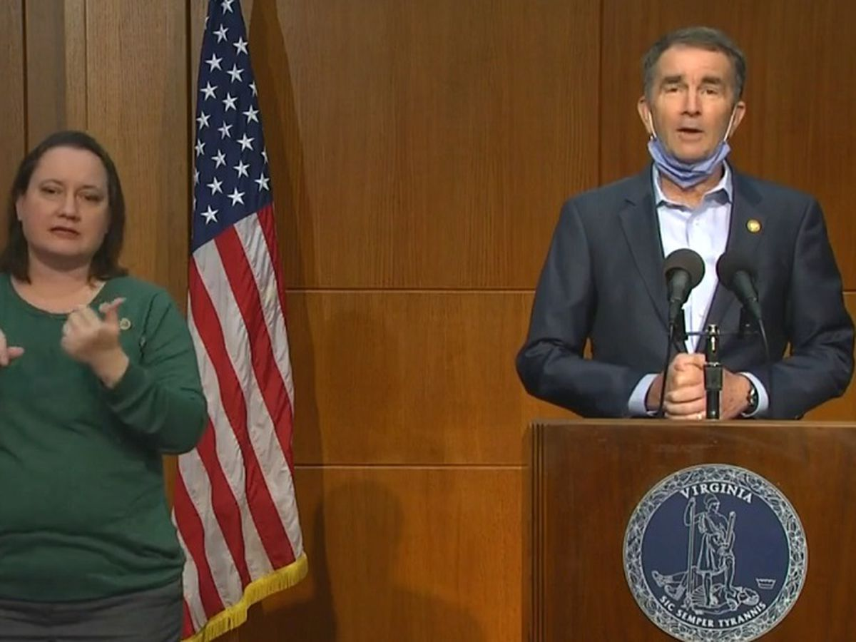 LIVE: Gov. Northam holds press conference on COVID-19 amid rise in Virginia cases