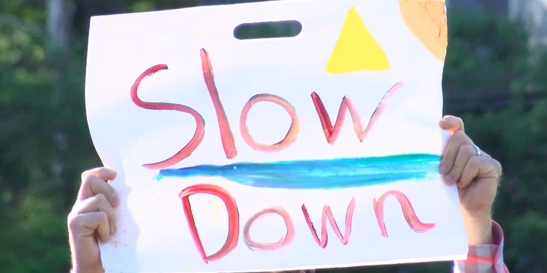 'It's 30′: Residents urge drivers to mind Semmes Ave. speed limit