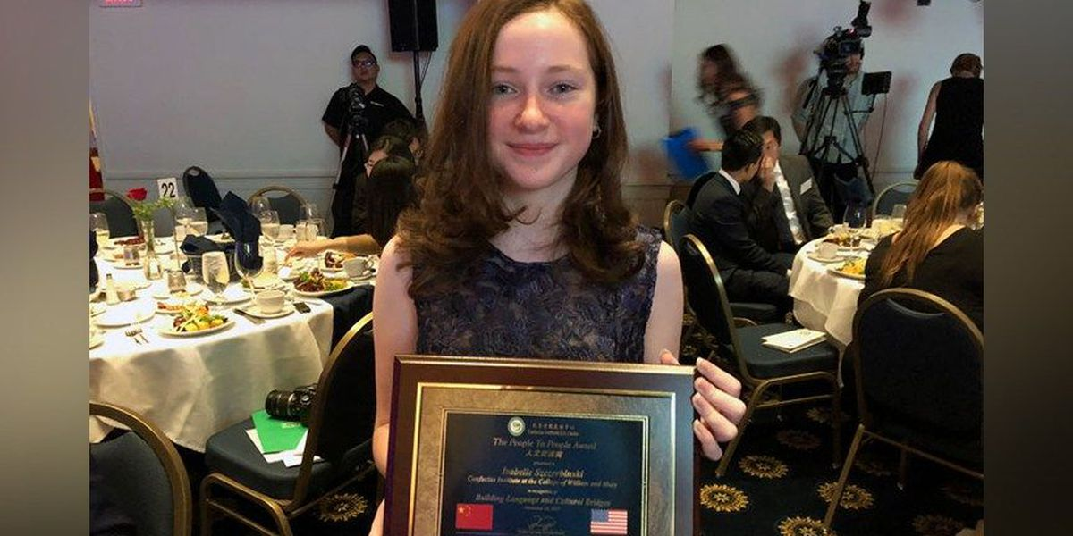 Midlothian homeschooler honored for studies in Mandarin