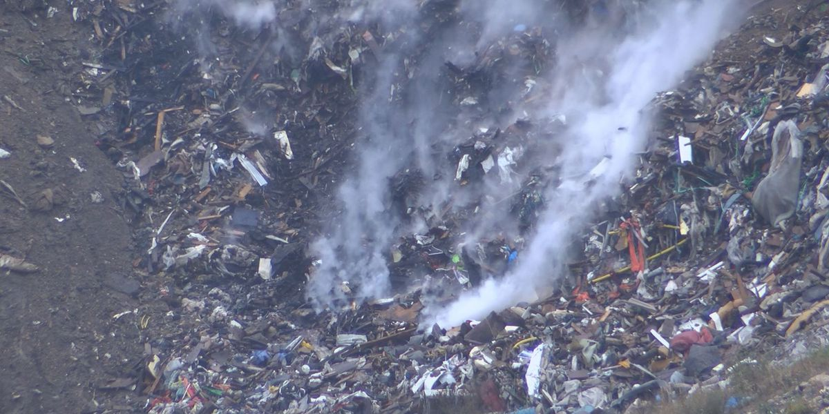 Henrico crews battle underground fire at East End landfill