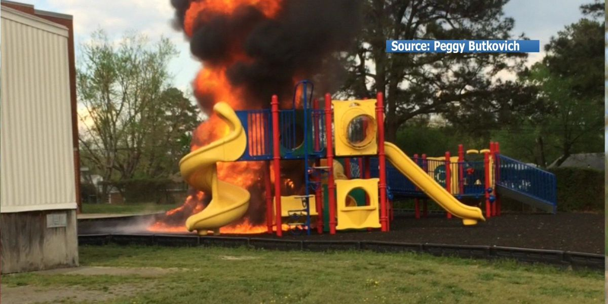 Juvenile arrested, charged after Richmond elementary school playground fire