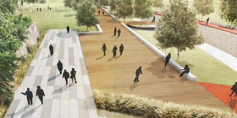 A look at the vision for the proposed Shockoe Area Memorial Park