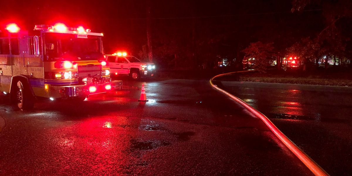 House fire near elementary school in Chesterfield