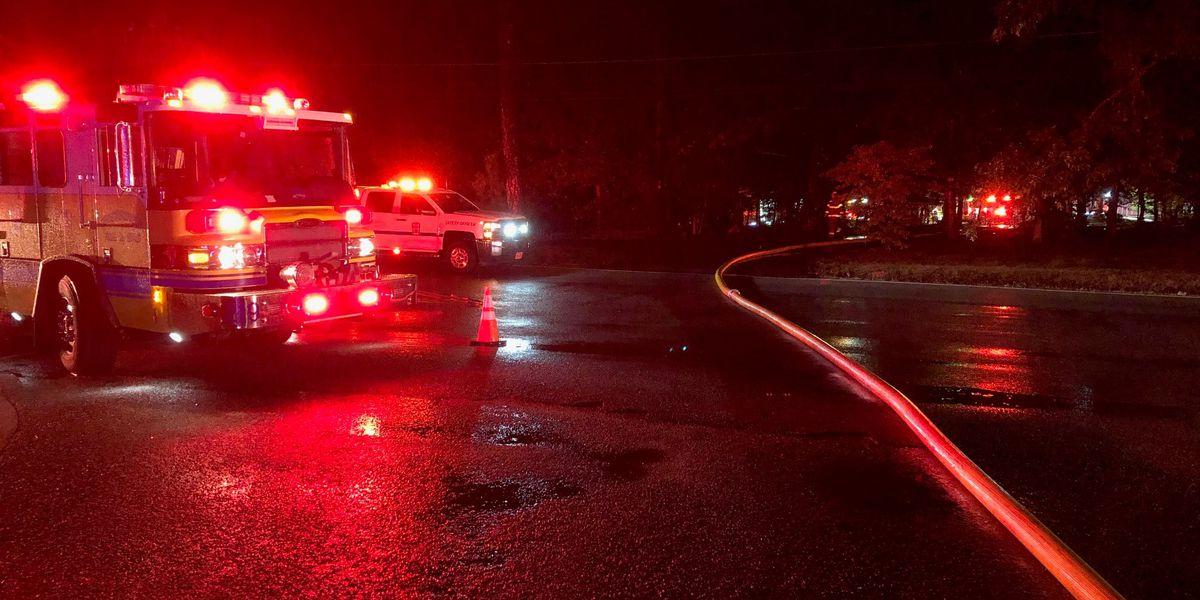 House fire near elementary school in Chesterfield
