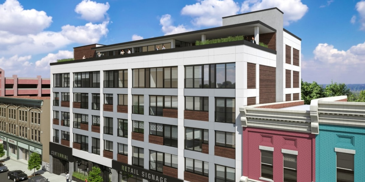 New downtown Richmond apartment complex, 'Centennial Terrace' targeted to young professionals