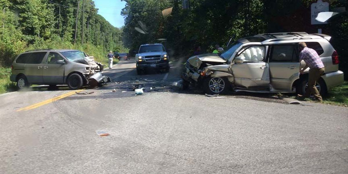 3 St. Gertrude students, 2 others injured in head-on wreck in Goochland