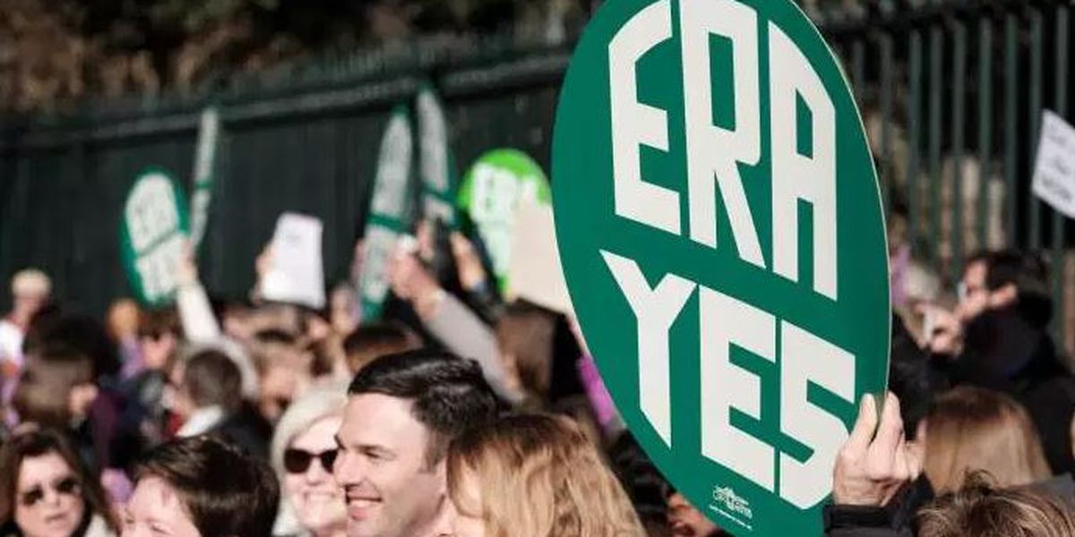 Equal Rights Amendment clears first hurdle