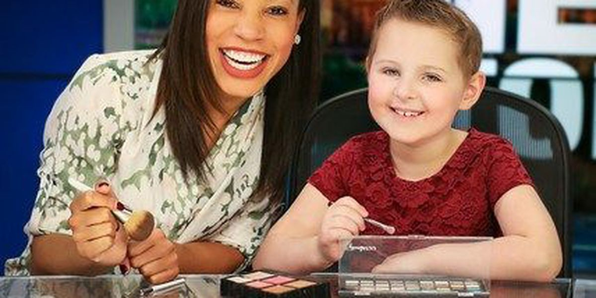 NBC12's Candice Smith featured in Richmond Family Magazine with young cancer patient