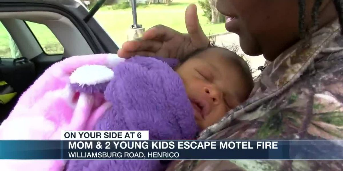 'She stayed asleep the entire time': 6-day-old baby evacuated during Henrico motel fire