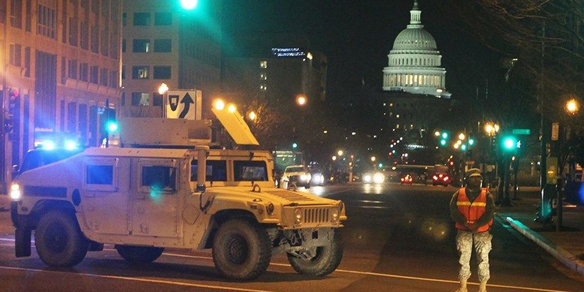 Hundreds of VA National Guard soldiers to help at inauguration