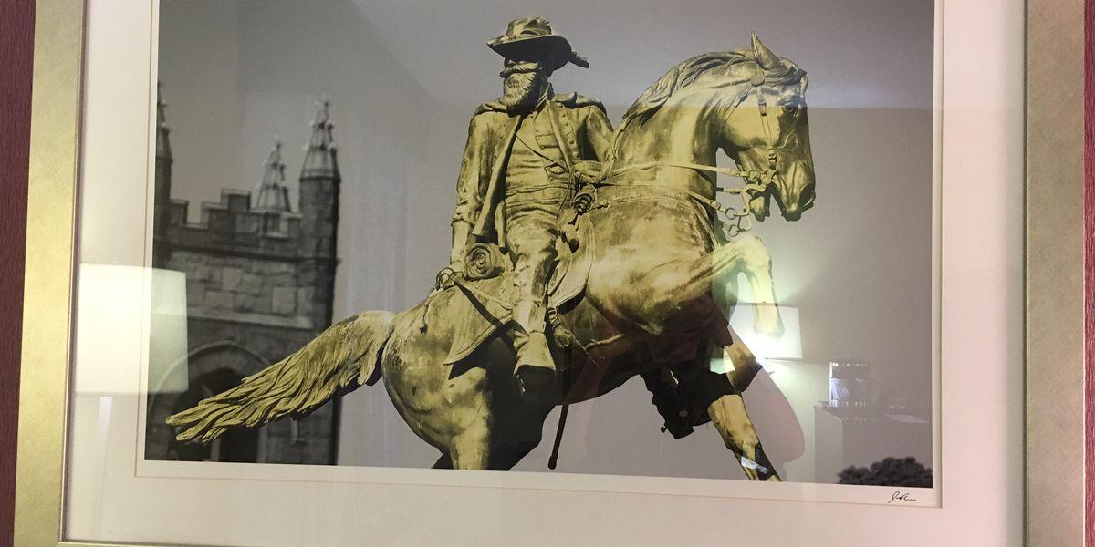 Confederate portrait inside hotel sparks debate