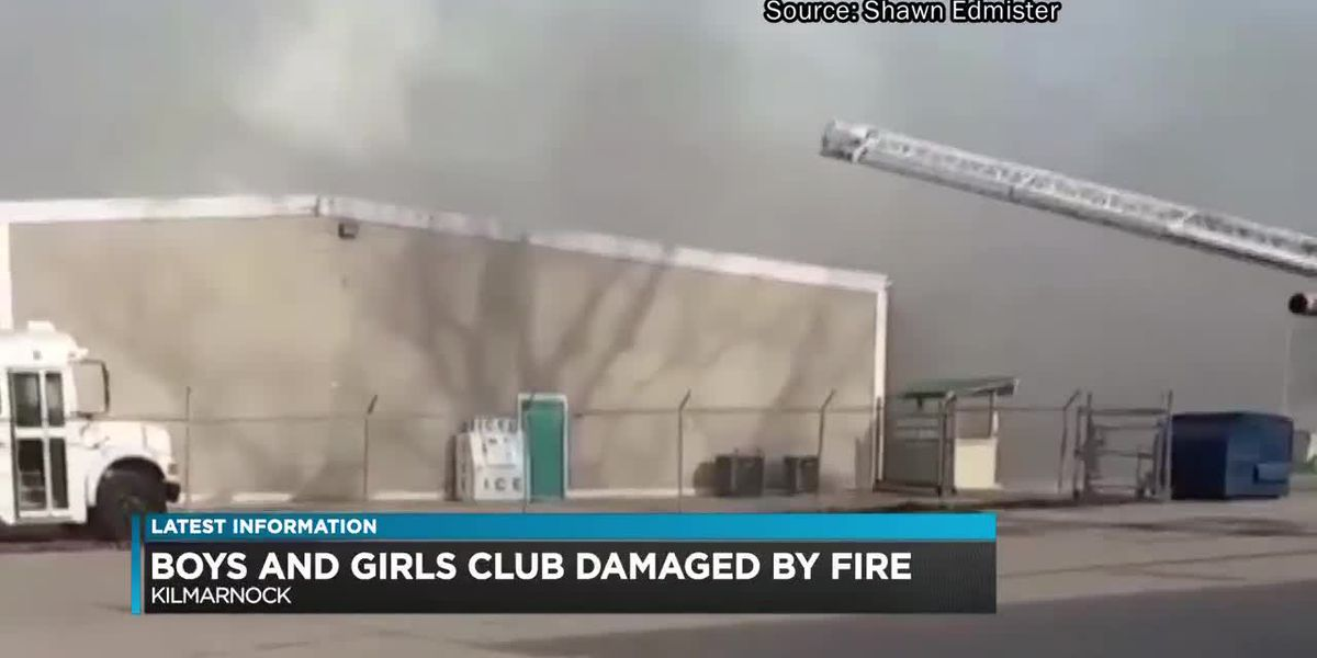 'One of many heartbeats in this community': Fire damages Boys & Girls Club