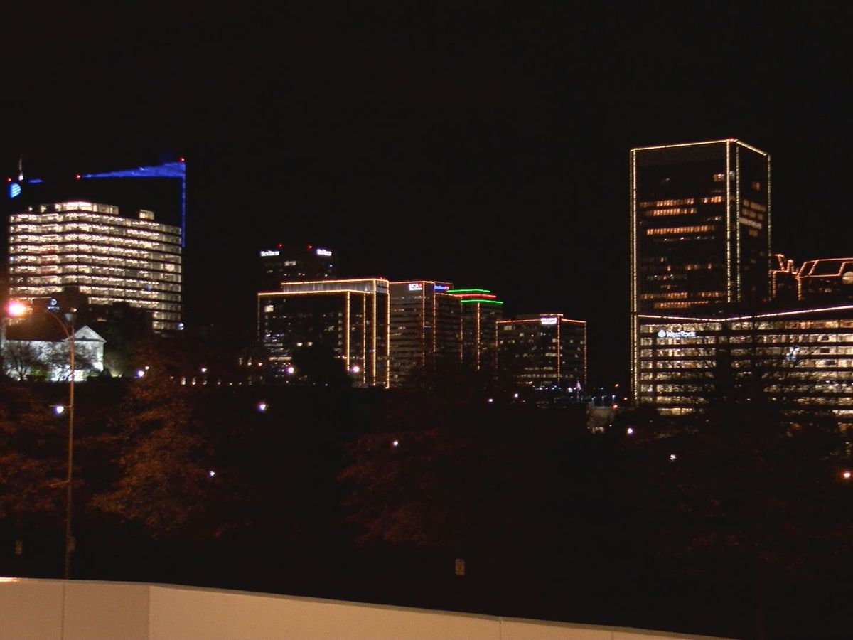 RVA Illuminates in full swing with one thing missing - crowds at the countdown