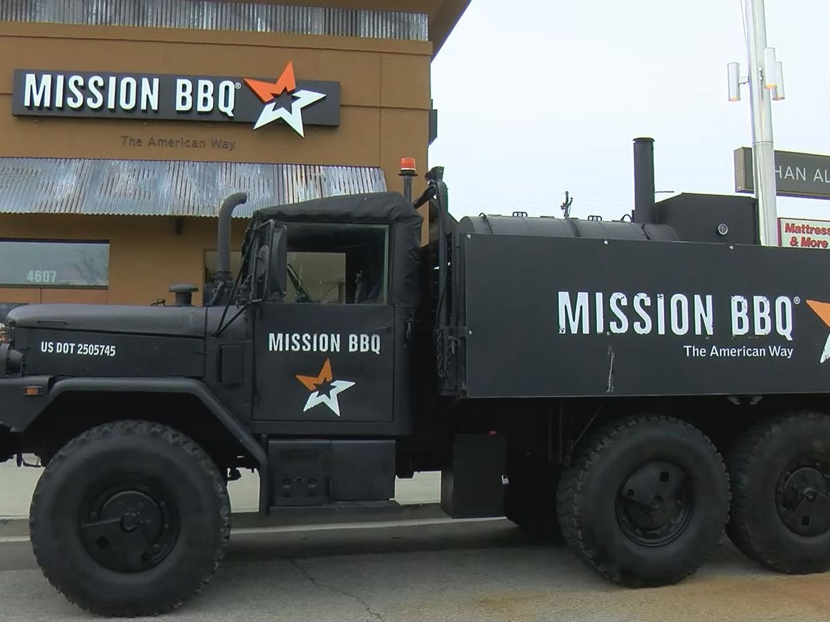 Mission BBQ offering free sandwiches to veterans, active duty military