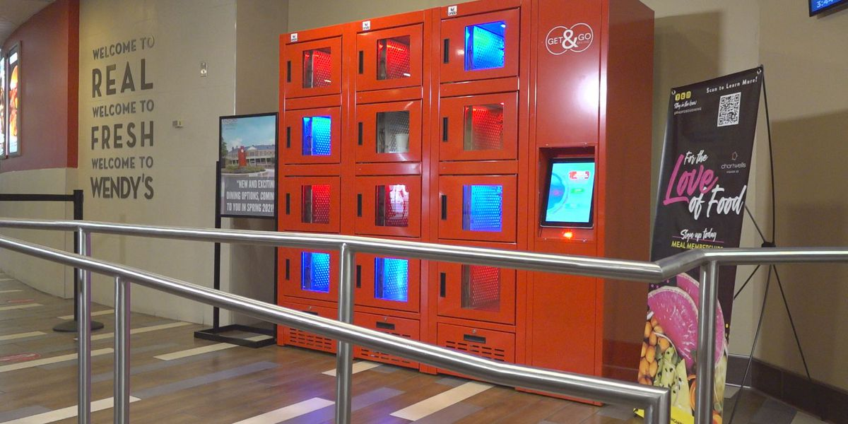 Radford University reinvents dining experience through hot, cold lockers