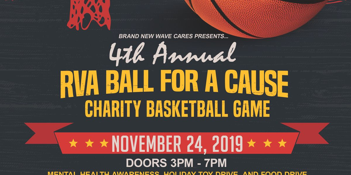 "4th Annual ""RVA Ball for A Cause"" charity basketball event is back"