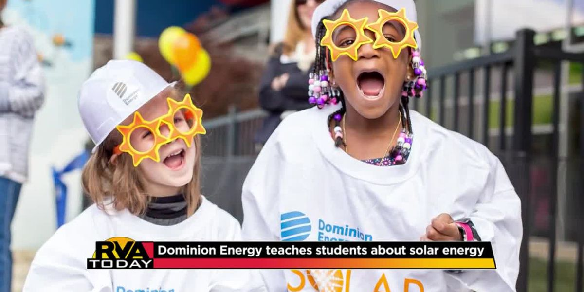 Dominion Energy teaches students about solar energy