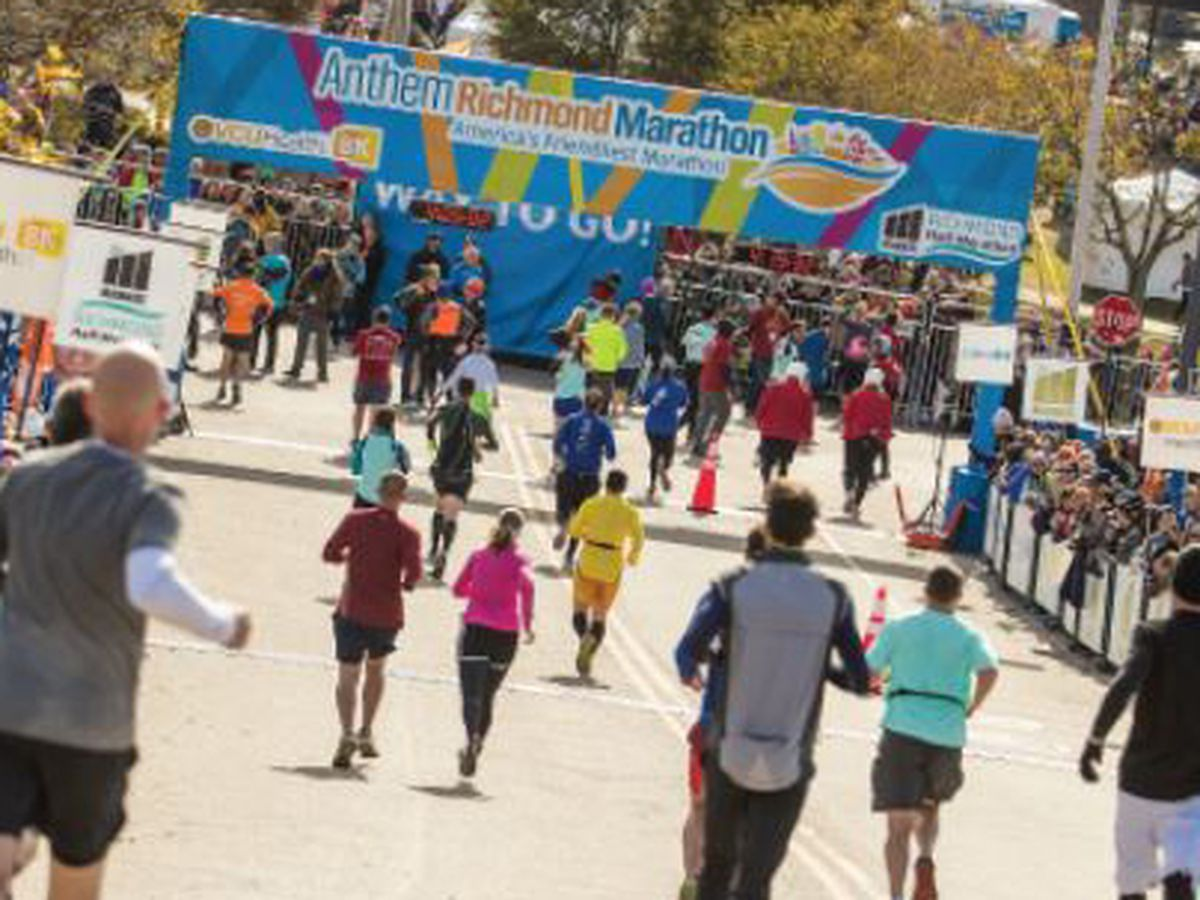 Richmond Marathon celebrating 41st year