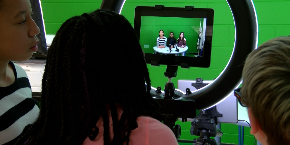 Hopewell fifth graders produce daily newscasts for school community