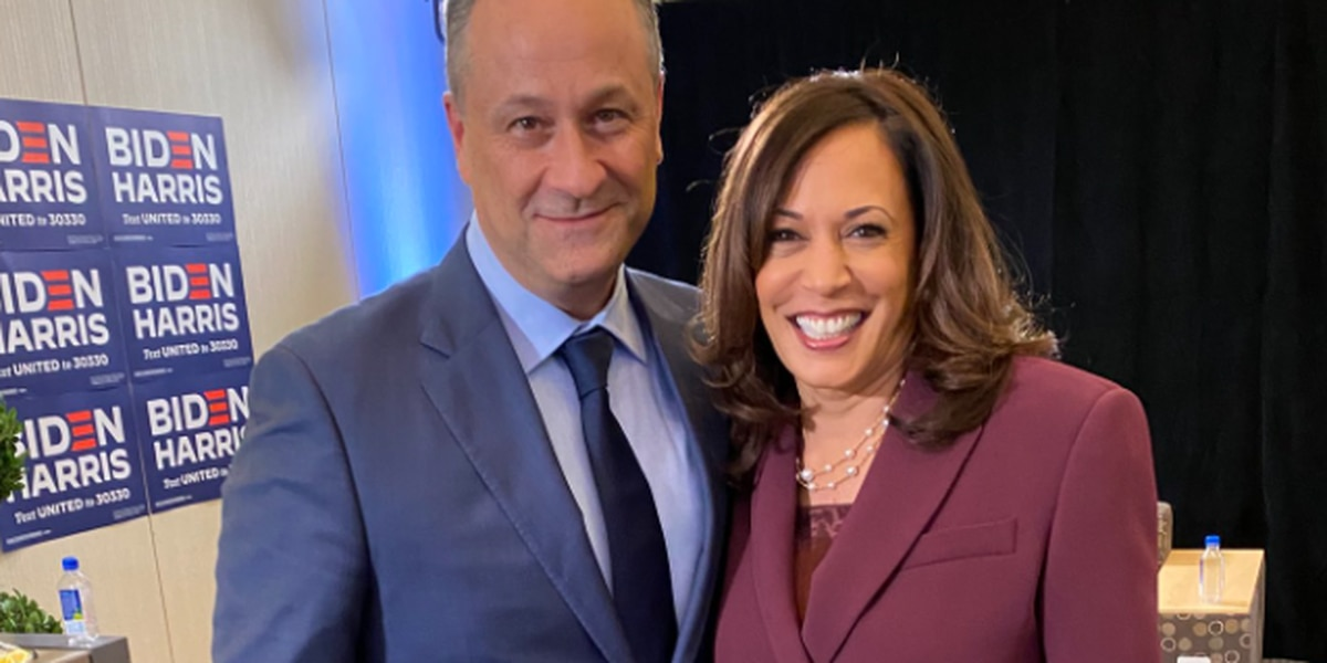 Kamala Harris's husband, Doug Emhoff to visit voting location in Henrico