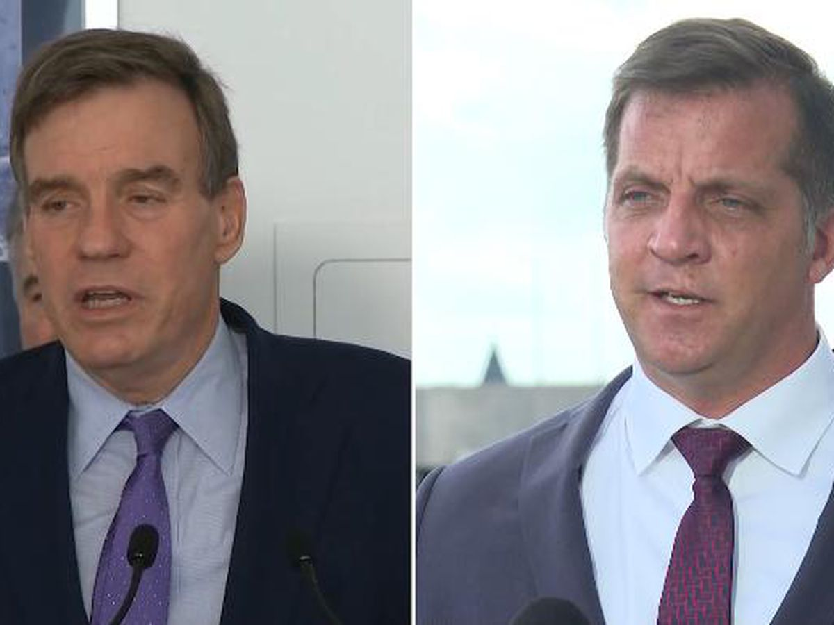 Warner, Gade meet in first debate of Senate race