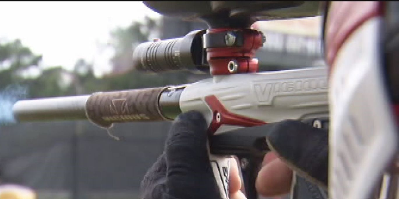 Man shot in face, back with paintballs at Chesterfield intersection