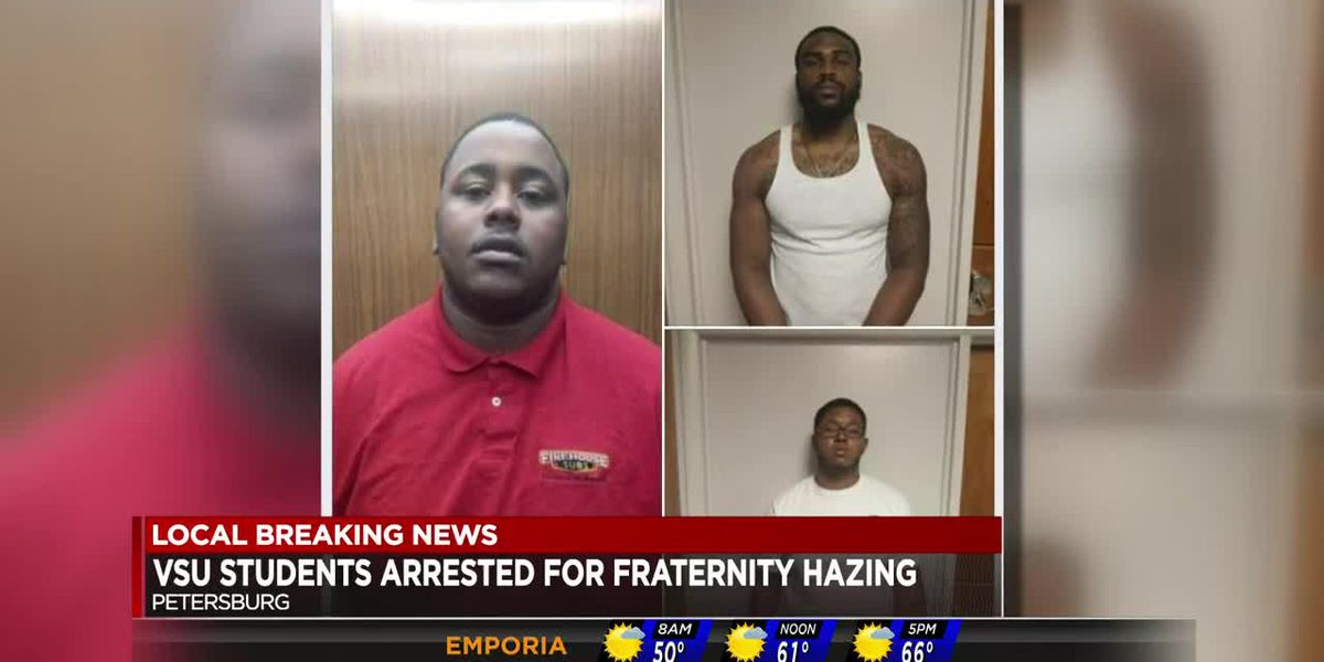 3 arrested in VSU hazing incident