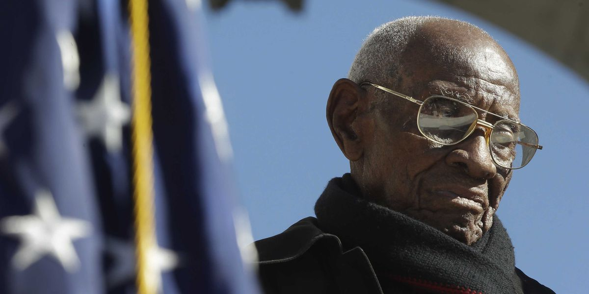 Nation's oldest World War II veteran, Richard Overton, dies at 112