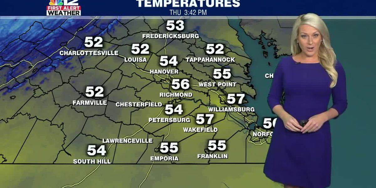 Forecast: Another cold night then rain on the way Saturday