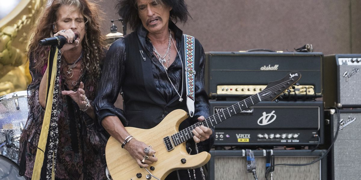 Aerosmith's Perry cancels tour after recent hospital visit