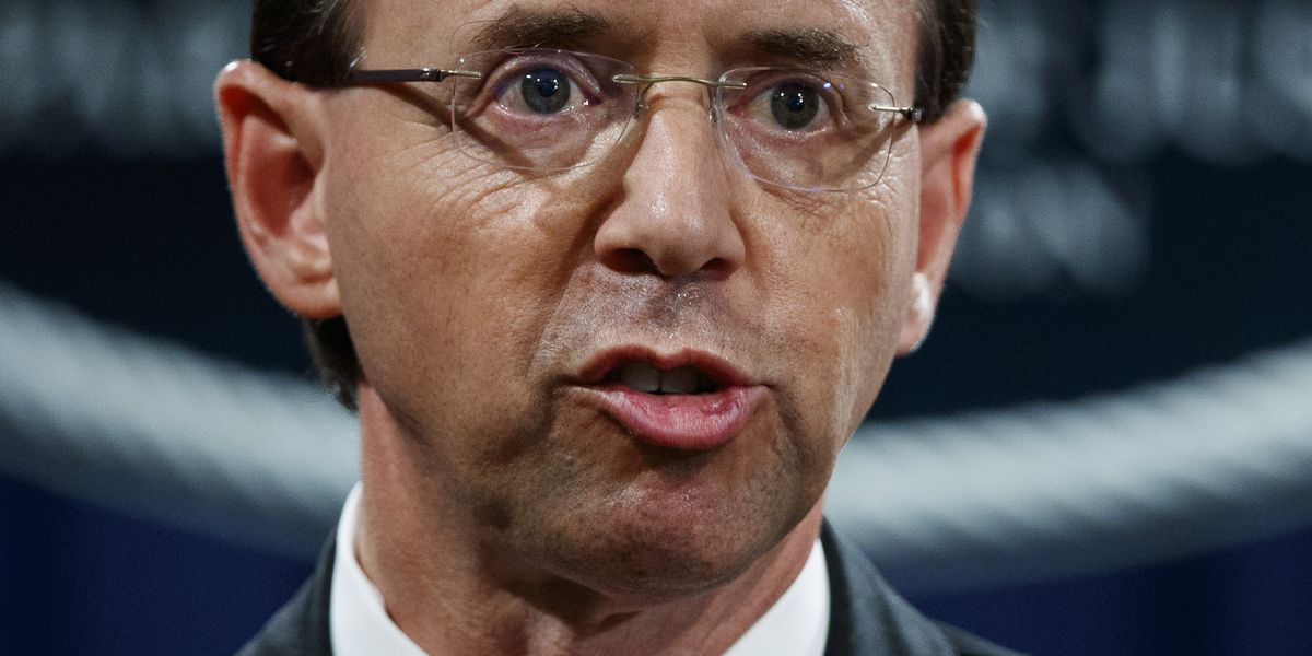 Rosenstein still has his job _ at least till Trump showdown