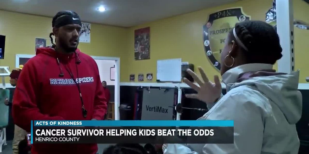 Cancer survivor helping Varina kids reach new heights