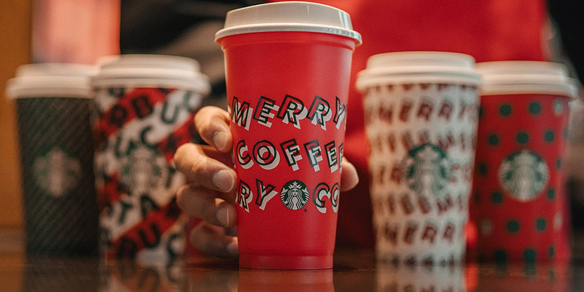 Starbucks holiday cups returning - here's how to get a free one
