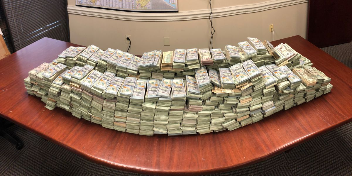 Truck driver caught with $3 million in cash hidden in barrels of raw meat near Cleveland County