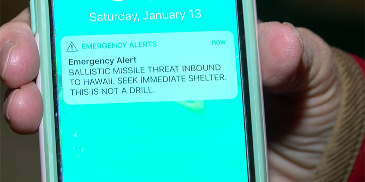 Chesterfield woman in Hawaii during false alarm: 'I was shaken'