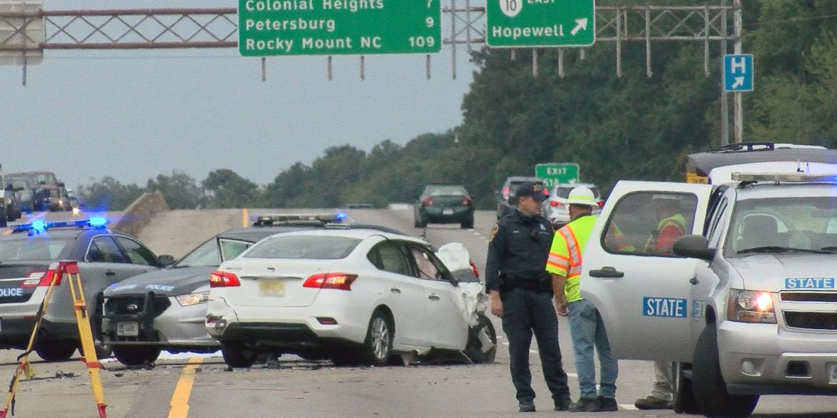 Chesterfield man killed in I-95 crash was standing in shoulder next to disabled vehicle
