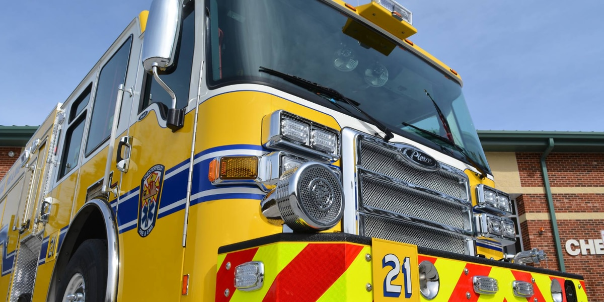 Chesterfield Fire contains first-floor apartment fire