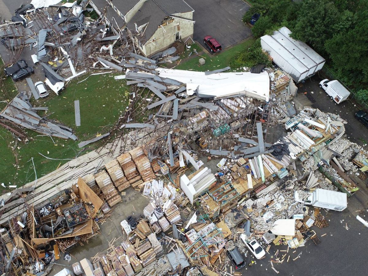 Remnants of Florence spark numerous tornadoes