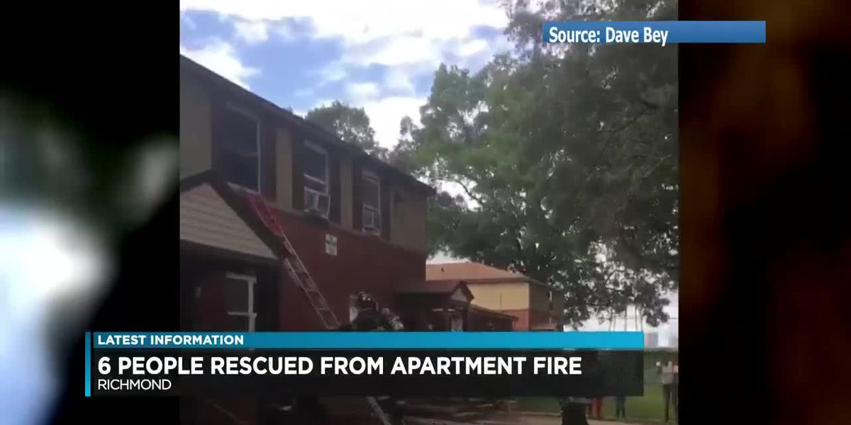 5 children recovering after being rescued from Richmond apartment fire