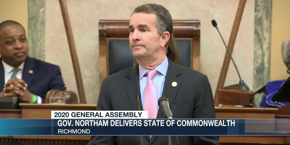 Gov. Northam outlines his goals during State of Commonwealth address